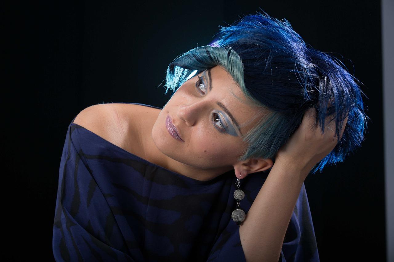 colorimetry, hair, models
